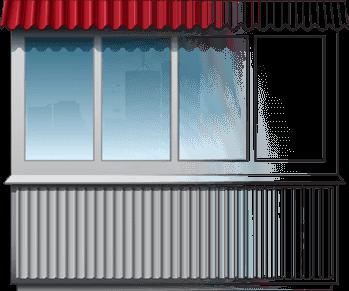 Комплексный ремонт балконов