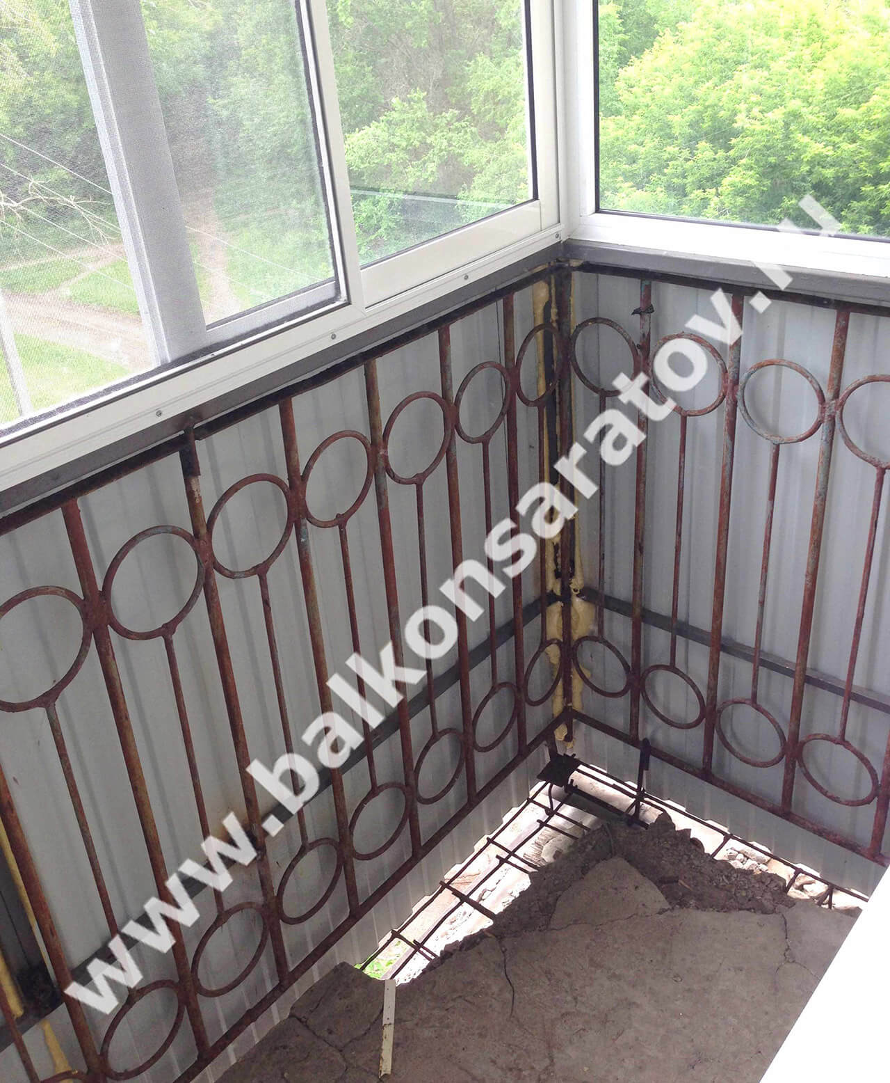 Ошибки при ремонте балкона.