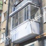 Остекление балкона с выносом, г. Саратов, ул. Большая Казачья