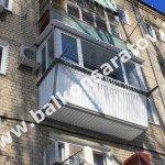 Остекление балкона, г. Саратов, ул. Высокая