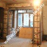 Усиление несущих конструкций межэтажного перекрытия