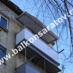Ремонт ограждений балконов в Саратове