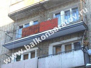 Ремонт балконных плит в Саратове