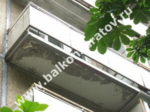 Усиление балконной плиты в Саратове